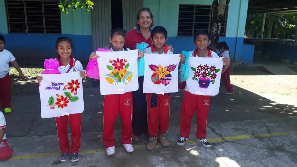 Taller de Bordado en Escuelas Tuxtla Chico 2020