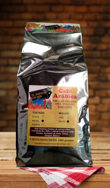 Cafe Organico Arabica 1kg DCHA